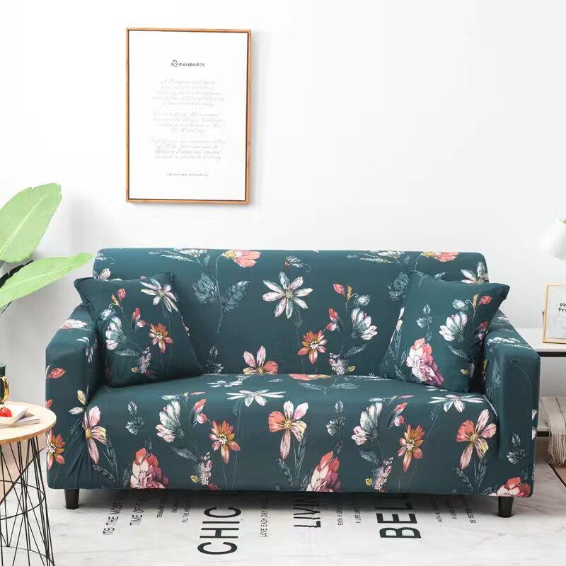 Купить пасторальные листья чехлы для диванов эластичные чехлы из спандекса