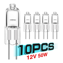 10pcs Ultra low price G4 12V 5W/10W/20W/35W/50W light bulbs inserted beads crystal lamps