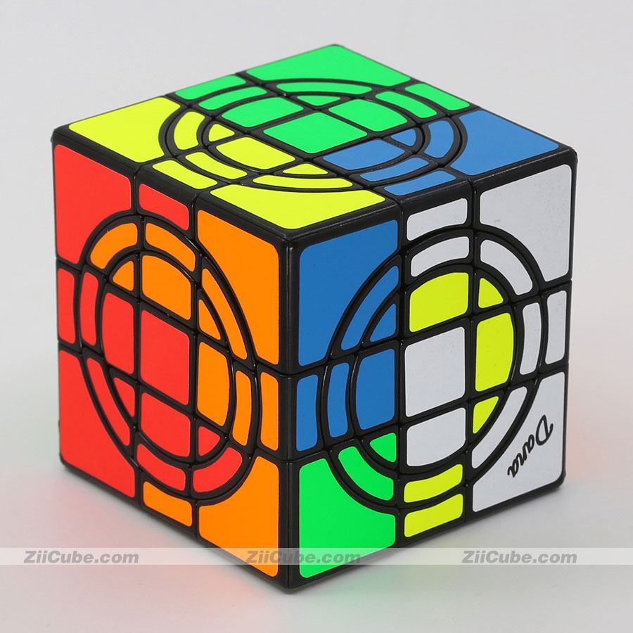 cubo magico mf8 duplo 3x3x3 quebra cabeca adesivo circulo duplo 3x3 04
