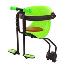 Child Bike Seat, Easy to install & Light Kids' Bicycle Carrier Baby Seat with Guardrail for Mountain Bikes, City Shared Bikes