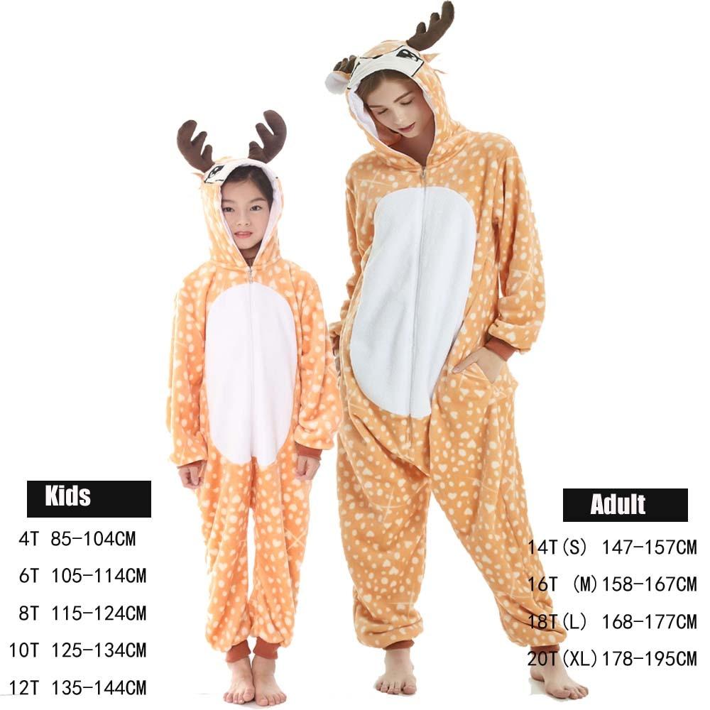 Кигуруми, Подростковая дизайнерская Пижама, Мужская пижама-комбинезон в виде единорога, женская пижама, цельная леопардовая пижама в виде ж...