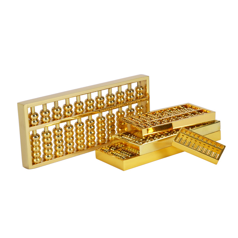 Abacus Small Alloy Abacus Pendant Lucky Treasury And Wealthy Feng Shui Home Decoration Crafts