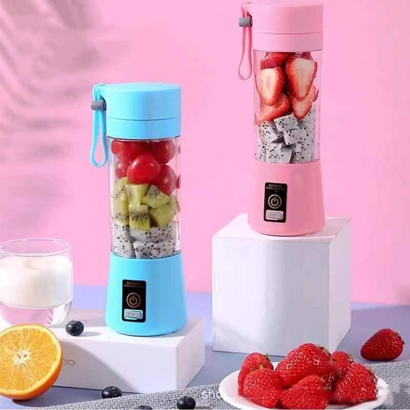Portable Glass Blender USB Mixer Electric Orange Juicer Machine Smoothie Blender Mini Food Lemon Squeezer Juice