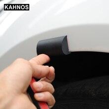 Arco da roda cobre extensões de borracha universal fender flares lábio roda arco guarnição fender sobrancelha protetor à prova de riscos de borracha