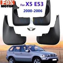 W stylu OE formowane błotniki samochodowe dla BMW X5 E53 2000   2006 błotniki błotniki Mud Flap błotniki 2001 2002 2003 2004 2005