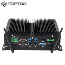 10th Gen Industrial sin ventilador Mini computadora Intel i7 10510U i5 10210U resistente PC 6 * COM 2 * Lans 8 * USB GPIO LPT HDMI VGA 4G WiFi