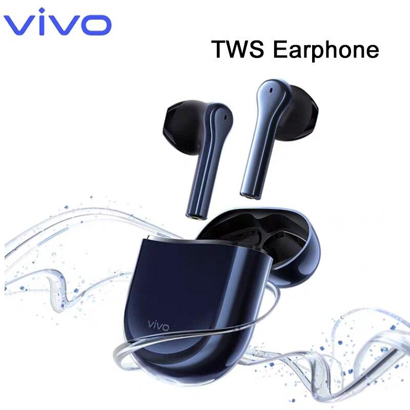 Original VIVO TWS Bluetooth QCC 5126 écouteurs sans fil écouteurs véritable casque sans fil 14.2mm unités dynamiques IP54 avec micro