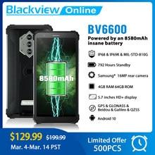 Blackview Nieuwe BV6600 Octa Core 4Gb + 64Gb IP68 Waterdichte 8580Mah Robuuste Smartphone 5.7