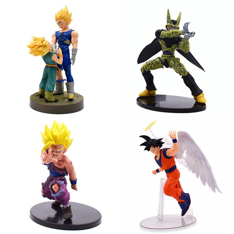 "Anime Cartoon Dragon Ball Son Goku Frieza figura de 15 cm//6/"""