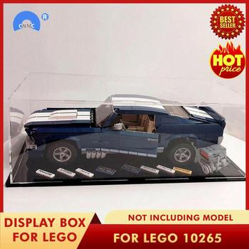 DIY Acrylic Display Case Box for LEGO Creator 10265 for Ford for Mustang Bricks Toy Acrylic Display Case ( Model Not Included ) image