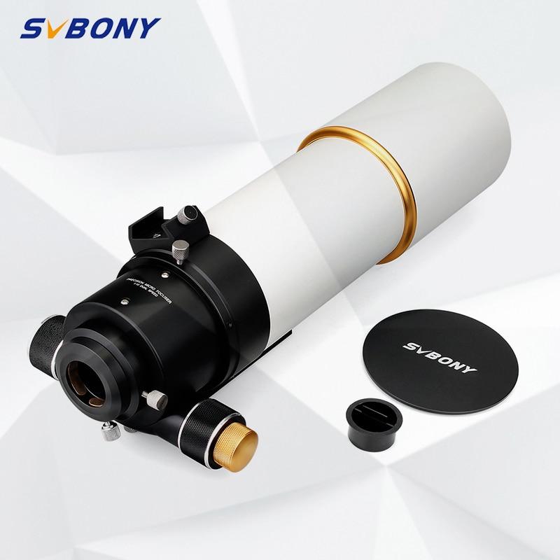 SVBONY 2 дюймов телескоп F50090 SV48 F5.5 рефрактор Профессиональный астрономический OTA астрофотографии Космос Луна с двойными линзами F9341B title=