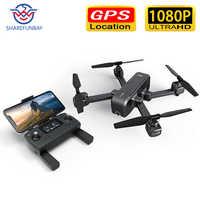 Drone GPS Original MJX X103W HD 1080P 5G WiFi Mode sans tête à quatre essieux retour intelligent sans Drone avec caméra drone rc