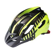 Unisex Bicycle Safety Helmet with Flash Light Integrated