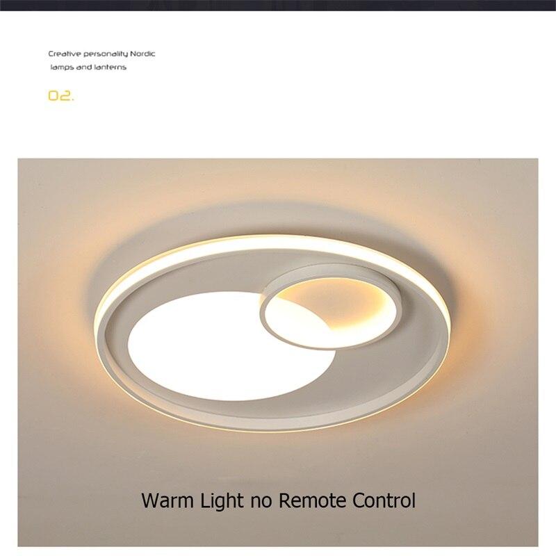 8m luminárias de teto com controle remoto