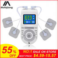 Electronic Pulse Massager Tens EMS Machine Massager Electrical Nerve Muscle Stimulator/Low Frequency Physiotherapy Device