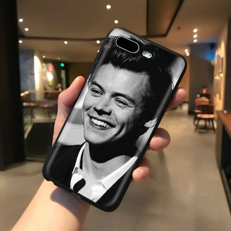Webbedepp Harry style śliczne etui na Apple iPhone 11 Pro XS Max XR X 8 7 6 6S Plus 5 5S SE