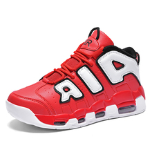 Basketball Shoes Men Air Sports Shoes High Tops Mens Basketball Sneakers Athletics Basket Shoes Chaussures de basket Black shoes cheap pscownlg CN(Origin) Medium(B M) Rubber Satin Air Sole Lace-Up Spring2019 Fits true to size take your normal size Response Cushion