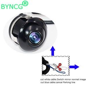 Promoção da fábrica hd visão noturna 360 graus para câmera de visão traseira do carro câmera frontal vista lateral invertendo câmera de backup