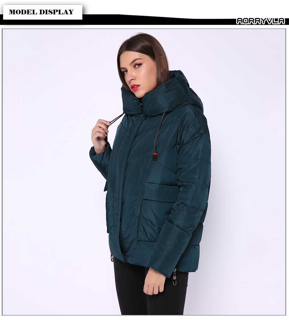 Women's Thick Winter Down Jacket 21
