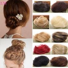 Liangmo самый красивый шиньон donur синтетический женский парик