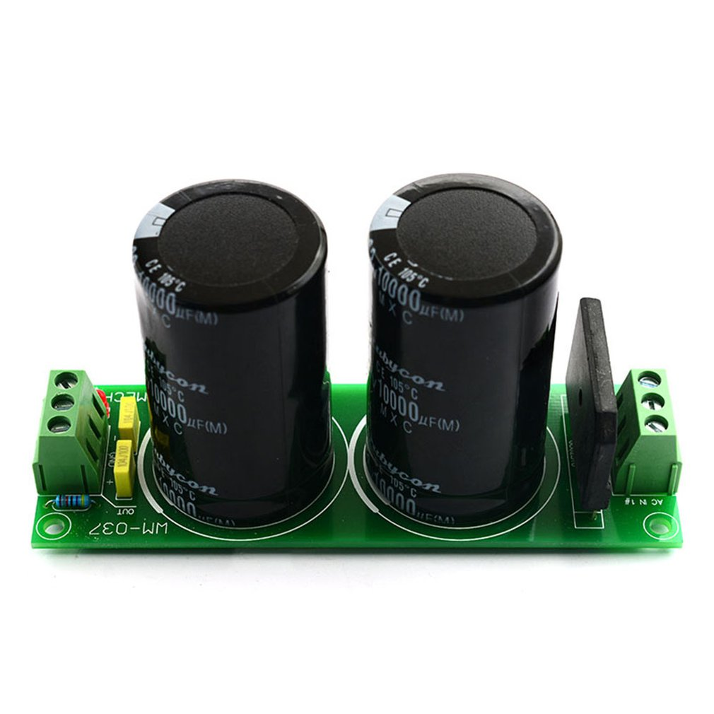 010 Single Rectifier Filter Board Capacitor Dual Dc Power Supply Module For Power Amplifier From Ac To Dc