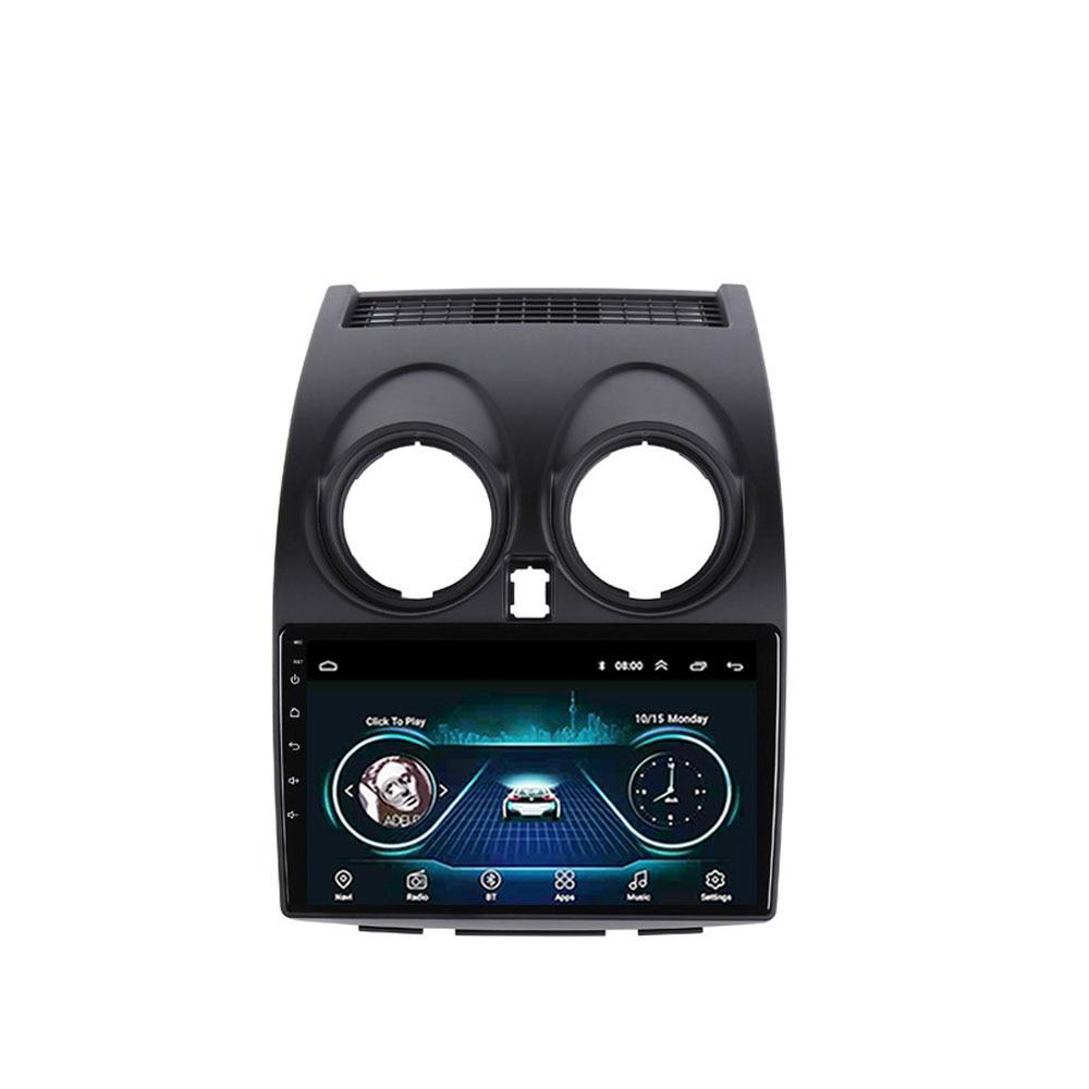 Eastereggs 9 polegada 2.5D Android 8.1 Navegação GPS Multimedia Player para Nissan Qashqai 2006 2007 2008 2009 2010 2011 2012 2013