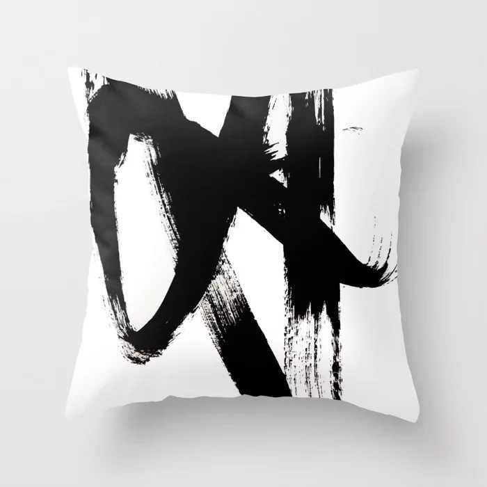 Abstrak Seni Lukisan Dekoratif Melempar Biru Bantal Bantal Selimut untuk Sofa Kursi Sofa Ruang Tamu Rumah Dekorasi Aksesoris