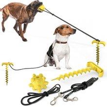 Поводок для домашних животных фиксированный ворс поводок собаки