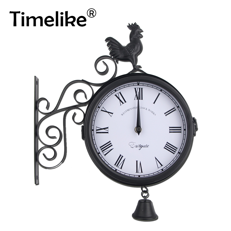 time-antique-wall-clocks-quartz-hanging-decor-rooster-iron-art-wall-clock-retro-outdoor-vintage-round-double-sided-garden-clock