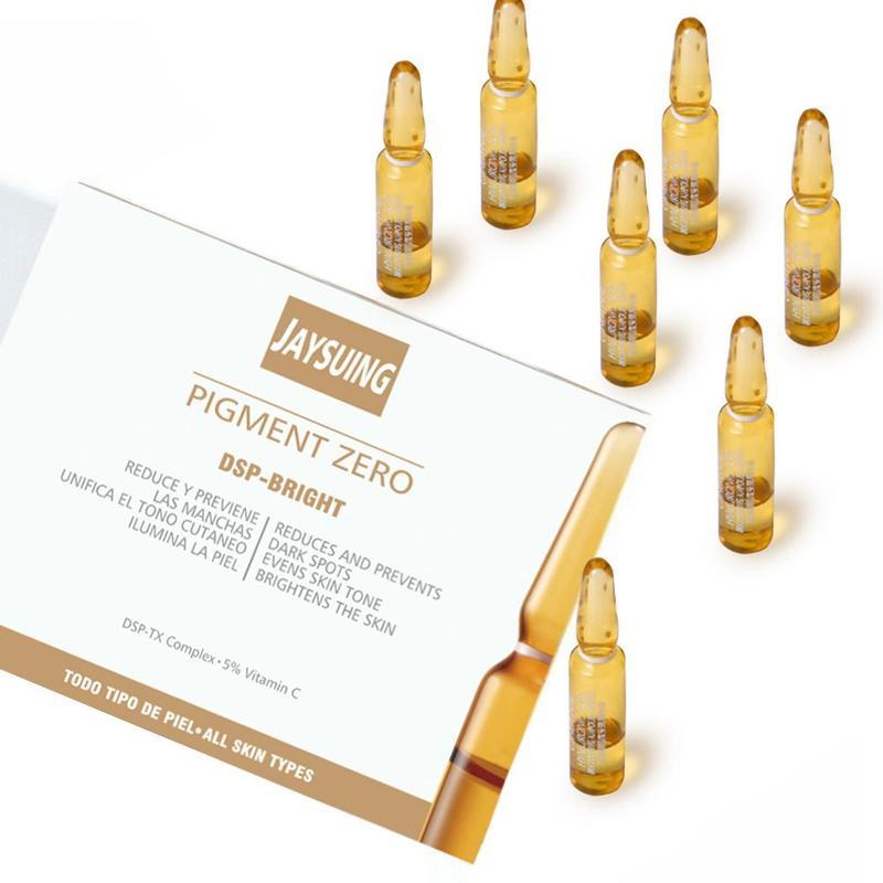 7x2ml Face Freckle Removal Whitening Serum Original Blemish Ampoules Pigment Zero Spots Ampoules