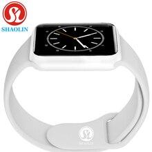 Reloj inteligente de serie 4 con control del ritmo cardíaco, caja de acero brillante con botón rojo, 8 relojes para iOS y Android