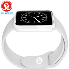 Smart Watch Series 4 Heart Rate Smartwatch upgraded with Red button Gloosy steel case 8 clocks For iOS Android