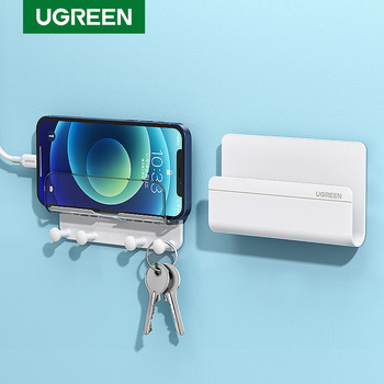 Ugreen Mobile Phone Holder Stand For iPhone X 8 7 6 Wall Mount Holder Adhesive Stand for Samsung Phone Tablet Stand Mount Holder 1