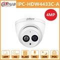 Dahua DH IPC-HDW4433C-A 4MP POE сетевая ip-камера HD Starlight камера Мини купольная камера безопасности Встроенный микрофон Замена IPC-HDW4431C-A