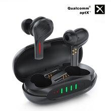 Bass Anc Tws Tai Nghe Chụp Tai Không Dây Hoạt Động Noisecancelling Bluetooth 5.0 Qcc3020 Micro Kép Hd Gọi Hifi Stereo Tai Nghe Thể Thao