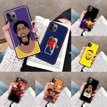 Phone-Case Anthony Davis Basketball-Star Bumper 6S Black 12 Mini for 5 5S 5C 6/6s/7/..