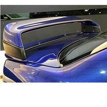 Para bmw e36 m3 spoiler 1990-2000 bmw m3 série spoiler com luz abs plástico materail sem pintura spoiler para bmw e36 m3 spoiler