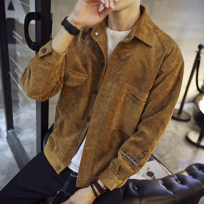 秋の新メンズジャケットハイストリートシングルブレストバイカージャケットカジュアル長袖ショートコート上着プラスサイズ 5XL