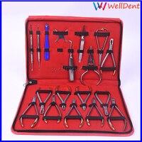 Dental Orthodontics Bracket Locator Subalong Pliers Instruments forceps Pliers Set Ring Retractable Dentist tools Dental Lab