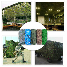 Camping Camo Net Oxford  Jungle Camouflage Sun Shelter Outdoor Car-covers Hunting Tent
