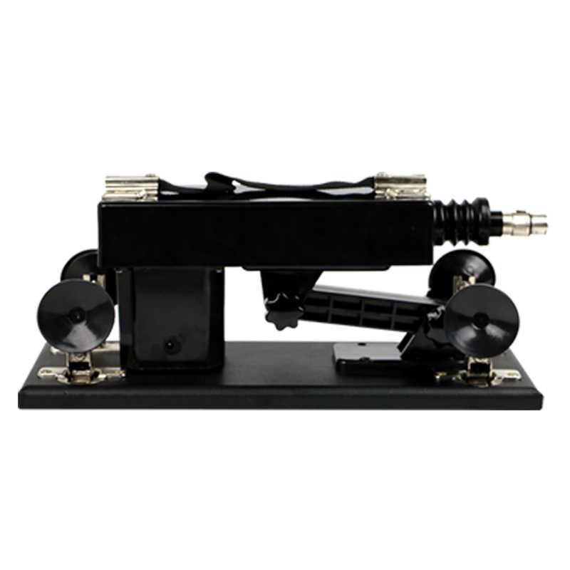 Seks Makineli tüfek Kadın Mastürbasyon Pompalama Tabancası ile Dildos Ekleri Otomatik Sokma Aşk Makineleri Kadınlar için E5-1-119