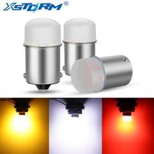 1 шт. P21W P21 5 Вт светодиодный лампы 1156 1157 BA15S BAY15D светодиодный Автомобильная сигнальная лампа R5W R10W DRL Дневной светильник 12V авто; Цвета белый, же...