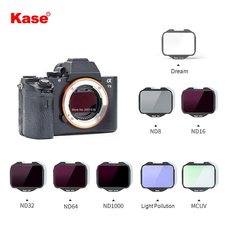 Встроенный ночной фильтр Kase MCUV/ND/нейтральный для камеры Sony серии A7/серии A7R/серии A7S/серии A9 (один фильтр)