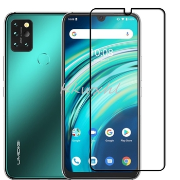 """9H HD Full Cover Color Tempered Glass For UMIDIGI A9 Pro 6.3"""" Screen PHONE Protector Protective Film Guard"""