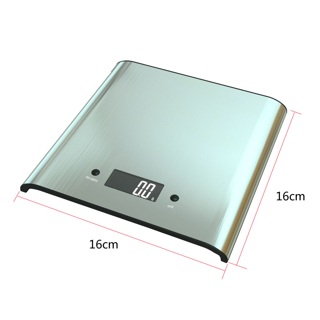 5 Kg Electronic Digital Kitchen Kitchen Scales Accuracy LCD Display Stainless Steel Home Decoration Accessories Bascula Cocina