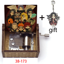 Musical-Box Anime Wooden Hand-Music-Theme Christmas-Birthday-Gift Sorrow Cosplay Party-Props