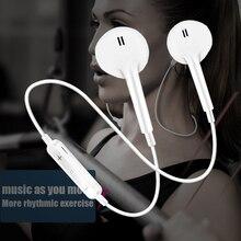 Bluetooth uyumlu kulaklık spor gerdanlık kablosuz oyun kulaklık Stereo kulakiçi kulaklık için Mic ile IPhone Xiaomi Huawei