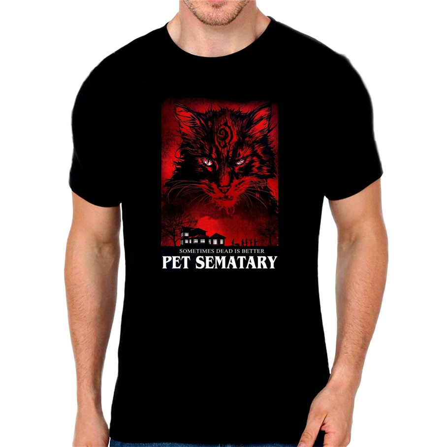 <font><b>Pet</b></font> <font><b>Sematary</b></font> <font><b>Poster</b></font> - Stephen King T Shirt For Youth Middle-Age The Elder Tee Shirt image