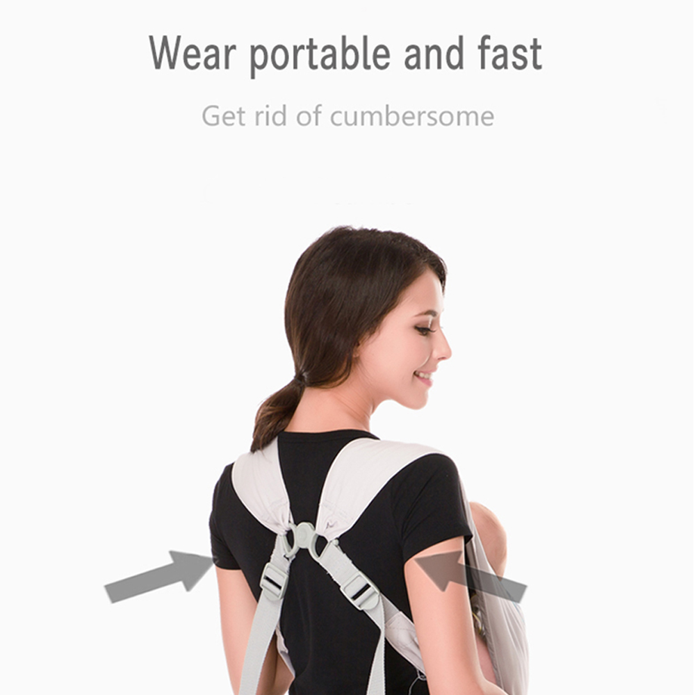Vrbabies Best Organic Baby Carrier Cozy Cotton Baby Wrap X-type Newborn Baby Sling  Kanguru Baby Carrier Rated