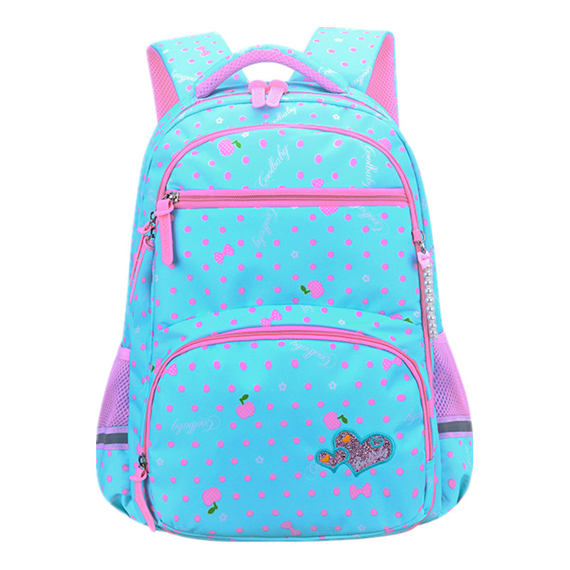 Suitable For Grades 1-6 Printing School Bags For Girls Children Orthopedics School Backpack Mochila Infantil